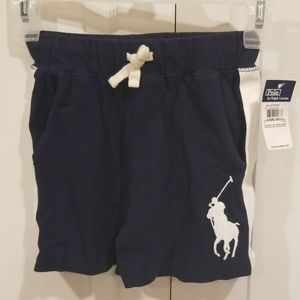 Boys Polo Ralph Lauren 4T Cotton Shorts NWT